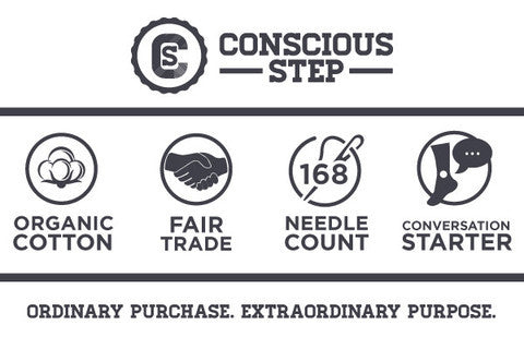 Socks to Give Clean Water // Conscious Step // Society B - Fair Trade Products and Gifts that Give Back - 6