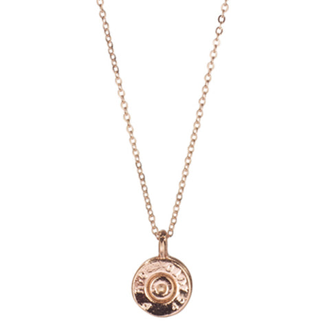 Tiny Top Pendant Necklace // Rose Gold // HALF UNITED // Society B - Fair Trade Products and Gifts that Give Back - 1