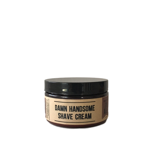 Scotch Ale Old-School Shave Cream // Damn Handsome // Society B - Fair Trade Products and Gifts that Give Back - 1