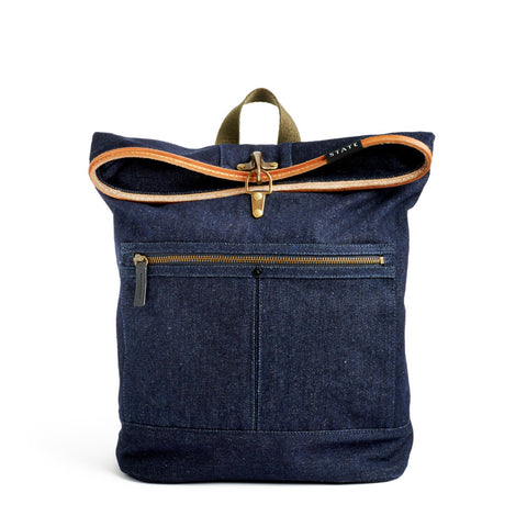 Smith Bag // Dark Denim // STATE Bags // Society B - Fair Trade Products and Gifts that Give Back - 1