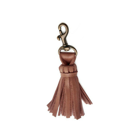 Tassel Keychain // Dusty Rose