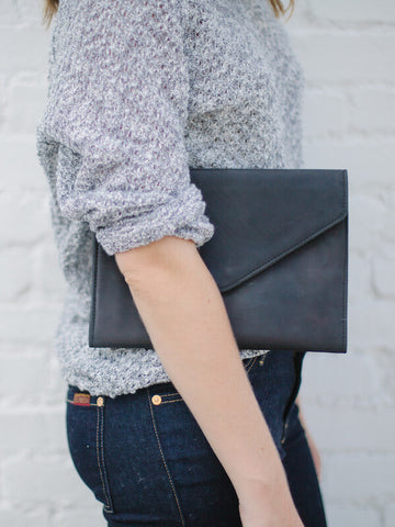 Tigist Clutch // Black // FashionABLE // Society B - Fair Trade Products and Gifts that Give Back - 3