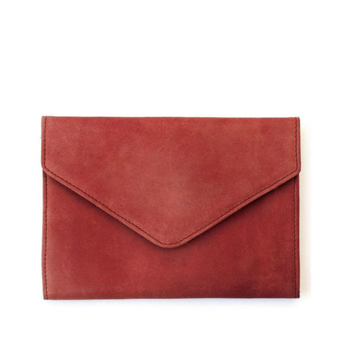Tigist Clutch // Merlot // FashionABLE // Society B - Fair Trade Products and Gifts that Give Back - 1