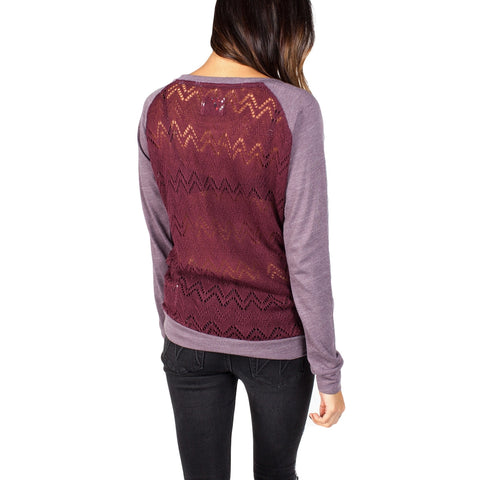 Knit Lace Long Sleeve // Plum // Krochet Kids // Society B - Fair Trade Products and Gifts that Give Back - 1