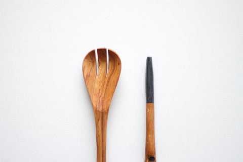 Kuni Utensil Set // Black // BADALA // Society B - Fair Trade Products and Gifts that Give Back