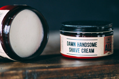 American Ale Old-School Shave Cream // Damn Handsome // Society B - Fair Trade Products and Gifts that Give Back - 2