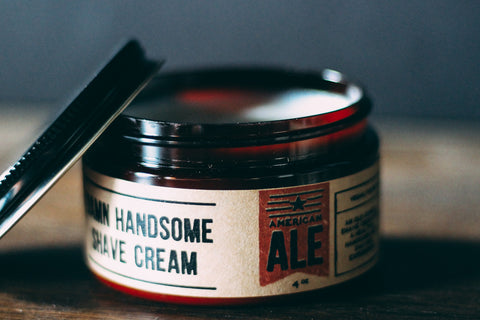 American Ale Old-School Shave Cream // Damn Handsome // Society B - Fair Trade Products and Gifts that Give Back - 4