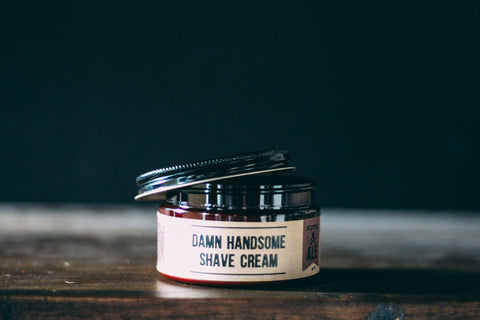 Scotch Ale Old-School Shave Cream // Damn Handsome // Society B - Fair Trade Products and Gifts that Give Back - 4