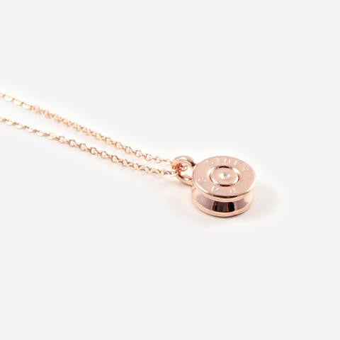 Tiny Top Pendant Necklace // Rose Gold // HALF UNITED // Society B - Fair Trade Products and Gifts that Give Back - 3
