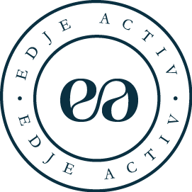 EDJE Activ: Barre Tanks & Tops | Barre Tanks for the Studio & Beyond - Edje Activ Barre Tanks Logo