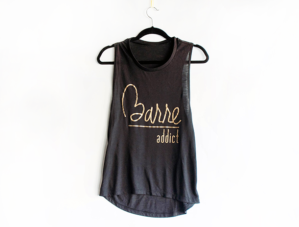 Barre Addict™  Muscle Tank