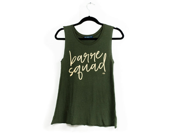Barre Squad Muscle Tank