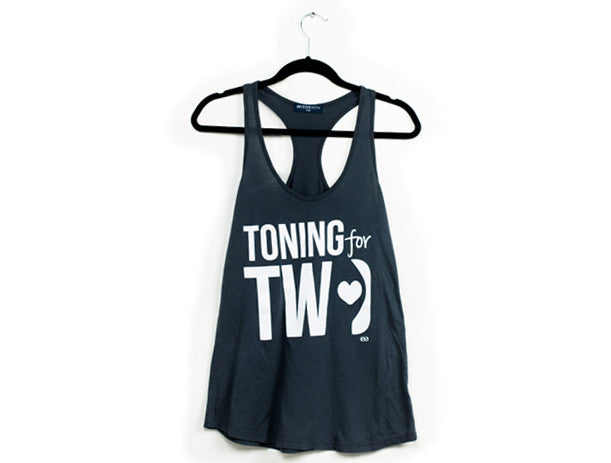 Toning for Two Racerback Tank