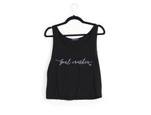 Goal Crusher | Women's Crop Top Shirt, white background