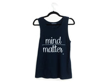 Mind Over Matter Muscle Tank Navy