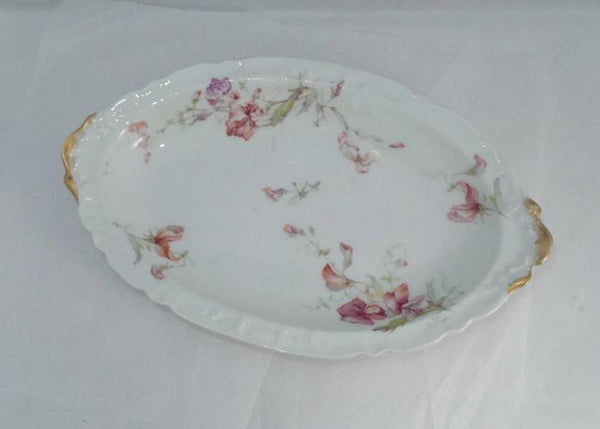 Antique Haviland Limoges Porcelain China Oval Dish Duckwells