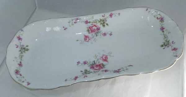 Antique KPM Barvarian Porcelain Oval China Dish-Duckwells