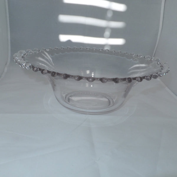 Candlewick Glass Serving Bowl-Duckwells