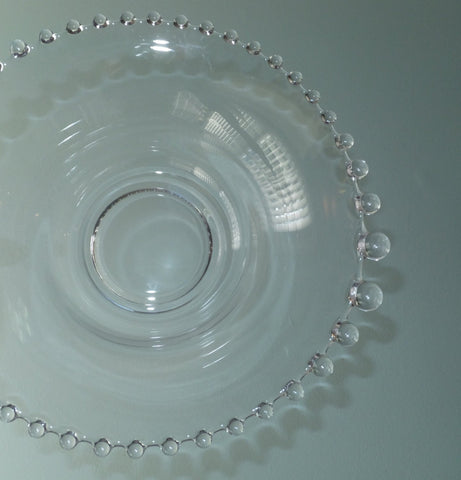 Candlewick Glass Serving Bowl - [vintage and antiques], Duckwells