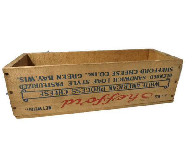 Wooden Shefford Cheese Box - [vintage and antiques], Duckwells