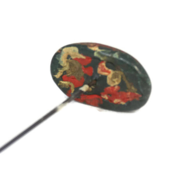 Antique Oval Hat Pin