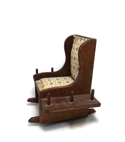 Vintage Rocking Chair Sewing Caddy - Duckwells