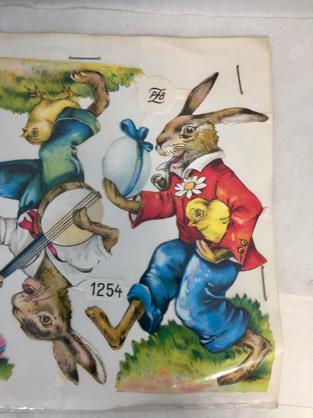 Vintage Easter German Die Cuts, PLB 1254