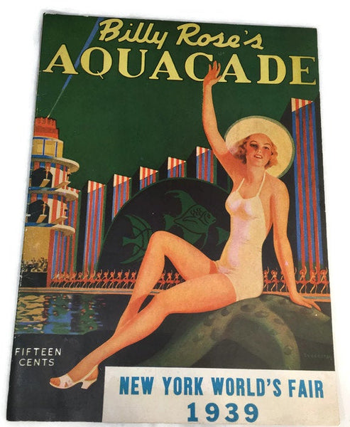Vintage 1939 New York Worlds Fair Booklet - [vintage and antiques], Duckwells
