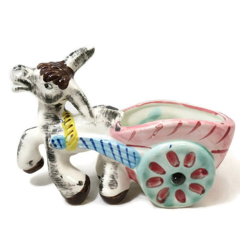 Donkey Cart Ceramic Planter - [vintage and antiques], Duckwells