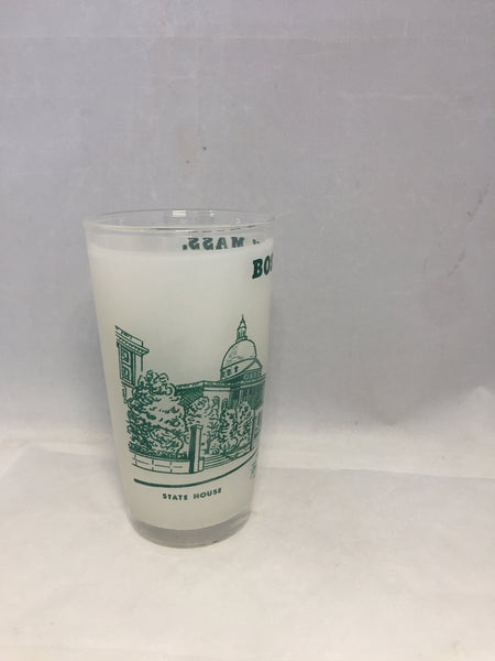 Vintage Boston Massachusetts Glass - [vintage and antiques], Duckwells