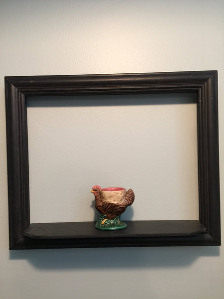 Vintage Egg Cup, Ceramic Chicken