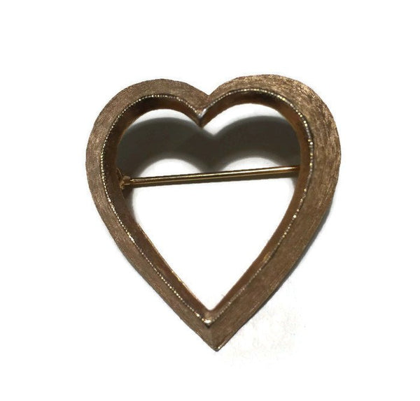 Vintage Heart Pin - Duckwells