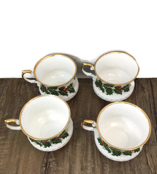 Vintage Christmas Cups - [vintage and antiques], Duckwells