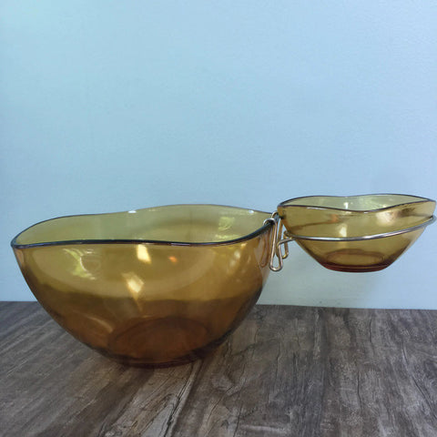 Mid Century Chip and Dip Set - Duckwells