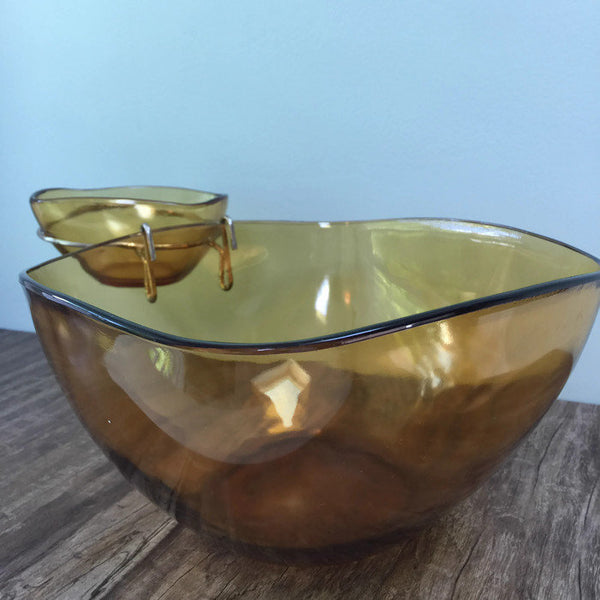 Mid Century Chip and Dip Set - [vintage and antiques], Duckwells