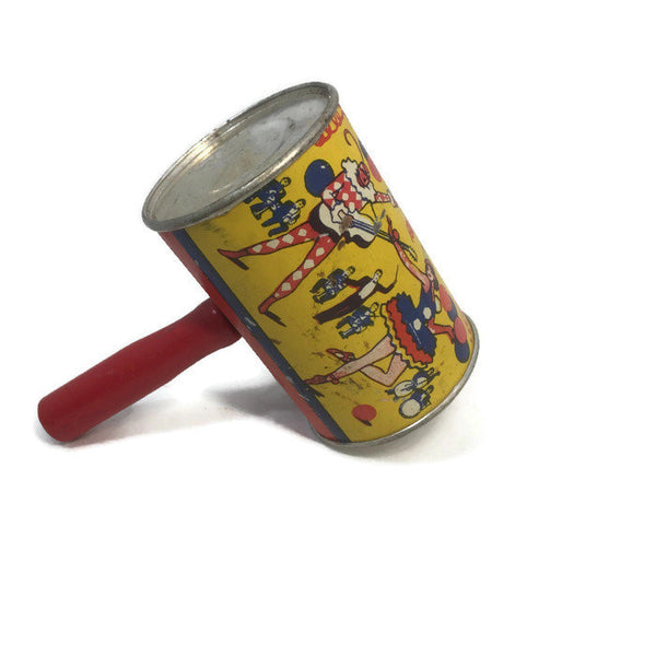 Vintage Tin Litho Noisemaker - [vintage and antiques], Duckwells