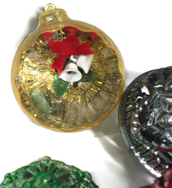 1950s Plastic  Christmas Ornaments - [vintage and antiques], Duckwells