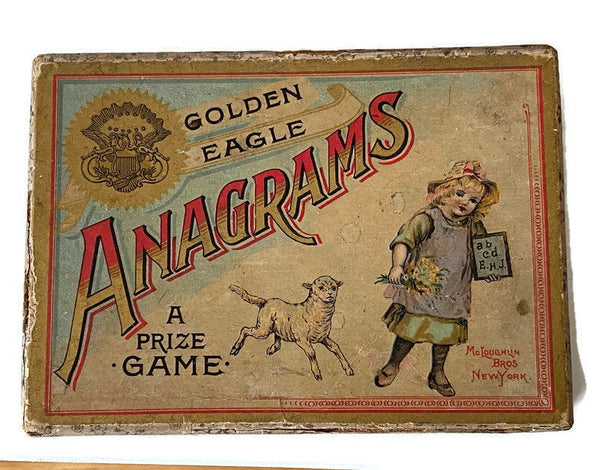 Antique Anagrams Game - Duckwells