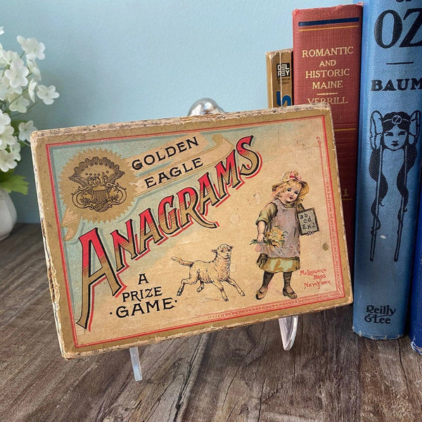Antique Anagrams Game - [vintage and antiques], Duckwells