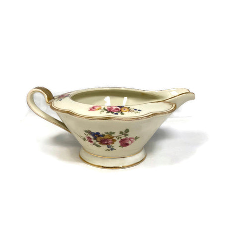 Vintage Royal Bayreuth Creamer Floral Pattern ROB13 - [vintage and antiques], Duckwells