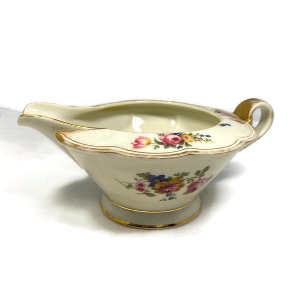 Vintage Royal Bayreuth Creamer Floral Pattern ROB13 - Duckwells