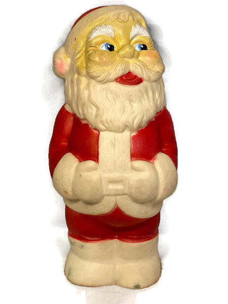 Vintage Santa Claus Squeeze Toy - Duckwells