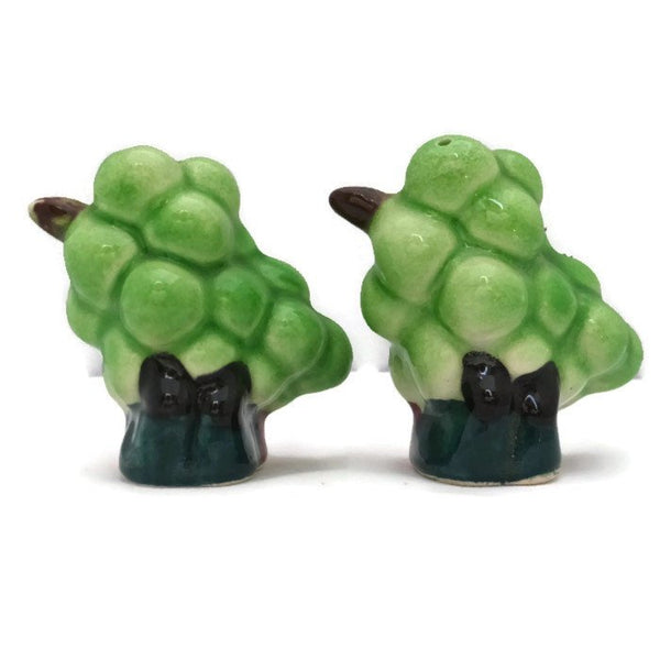 Vintage Anthropomorphic Grapes Salt and Pepper Shakers