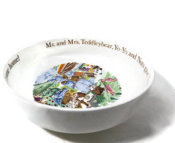 Vintage Aynsley Mr. Teddleybear Bowl-Duckwells