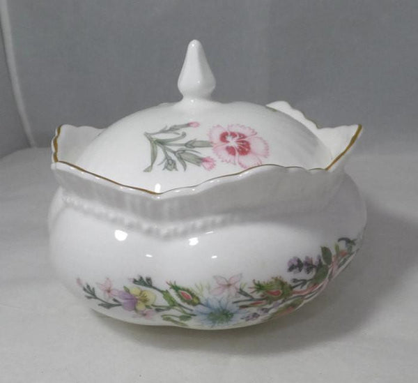 Vintage Aynsley Wild Tudor Covered Dish - Duckwells