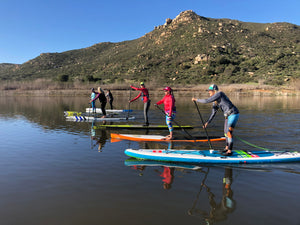 Lake Hodges Welcomes the Paddle Community for the First Time in History