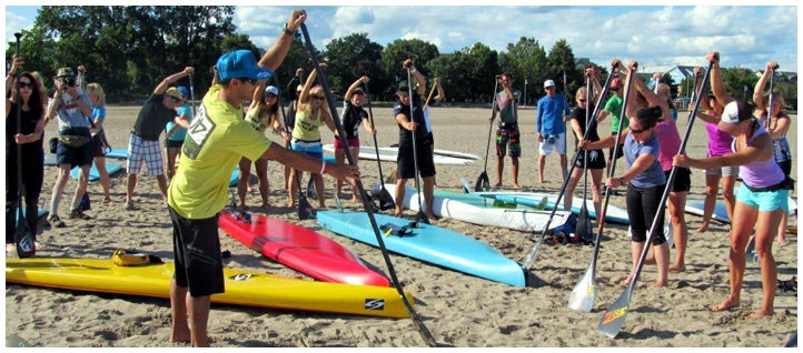 Danny Ching Hosting a SUP and Outrigger Clinic in San Diego