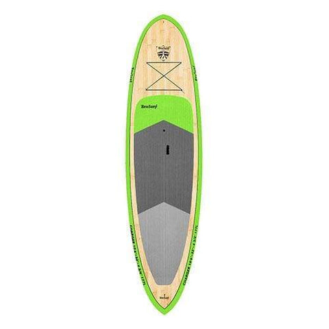 BRUSURF CHARGER GREEN BAMBOO SUP 10'6″ x 32″ - West Coast Paddle Sports