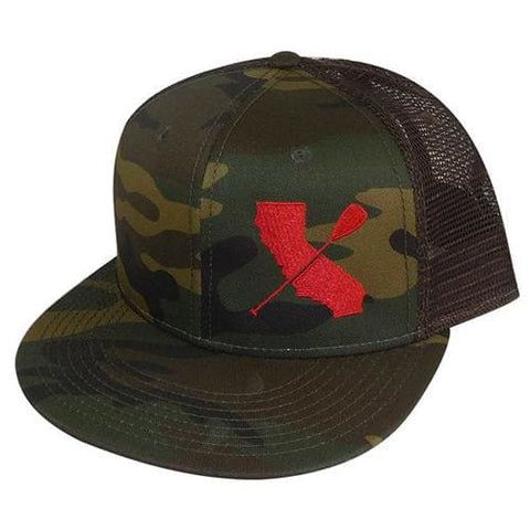 Cali Paddler Camouflage Hat - Apparel