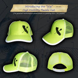 CALI PADDLER IVIS HIGH VISIBILITY REFLECTIVE PADDLE CAP - APPAREL